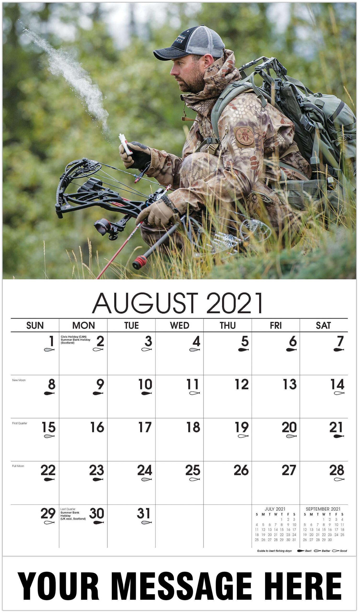Fishing & Hunting with Hunting Calendar 2021