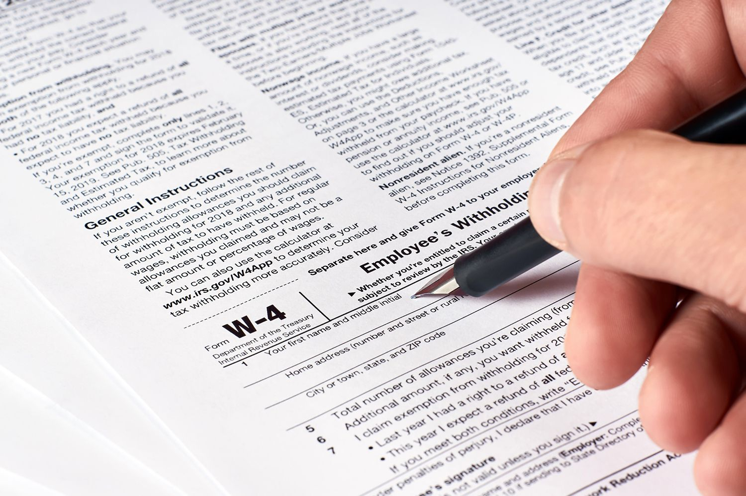 Form W-4: Understanding Your W-4 Form throughout W-9 Form 2021
