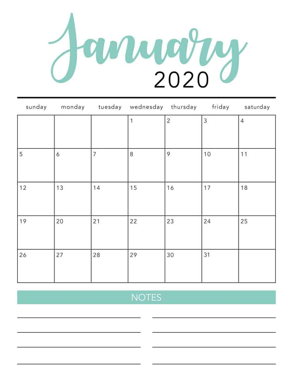 Free 2020 Printable Calendar Template 2 Colors I May 2020 throughout Free Monthly Calendar Printable And Editable