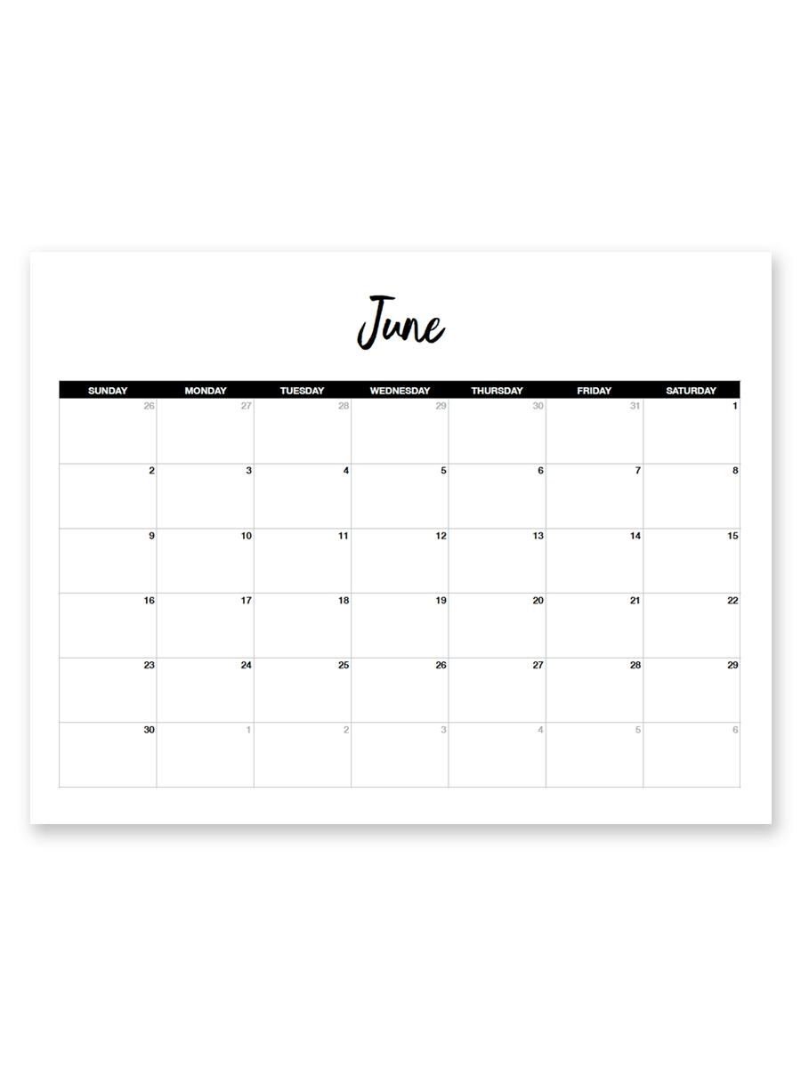 Free 8.5 X 11 Calendars - Calendar Inspiration Design for 8.5 X 11 Printable Calendars