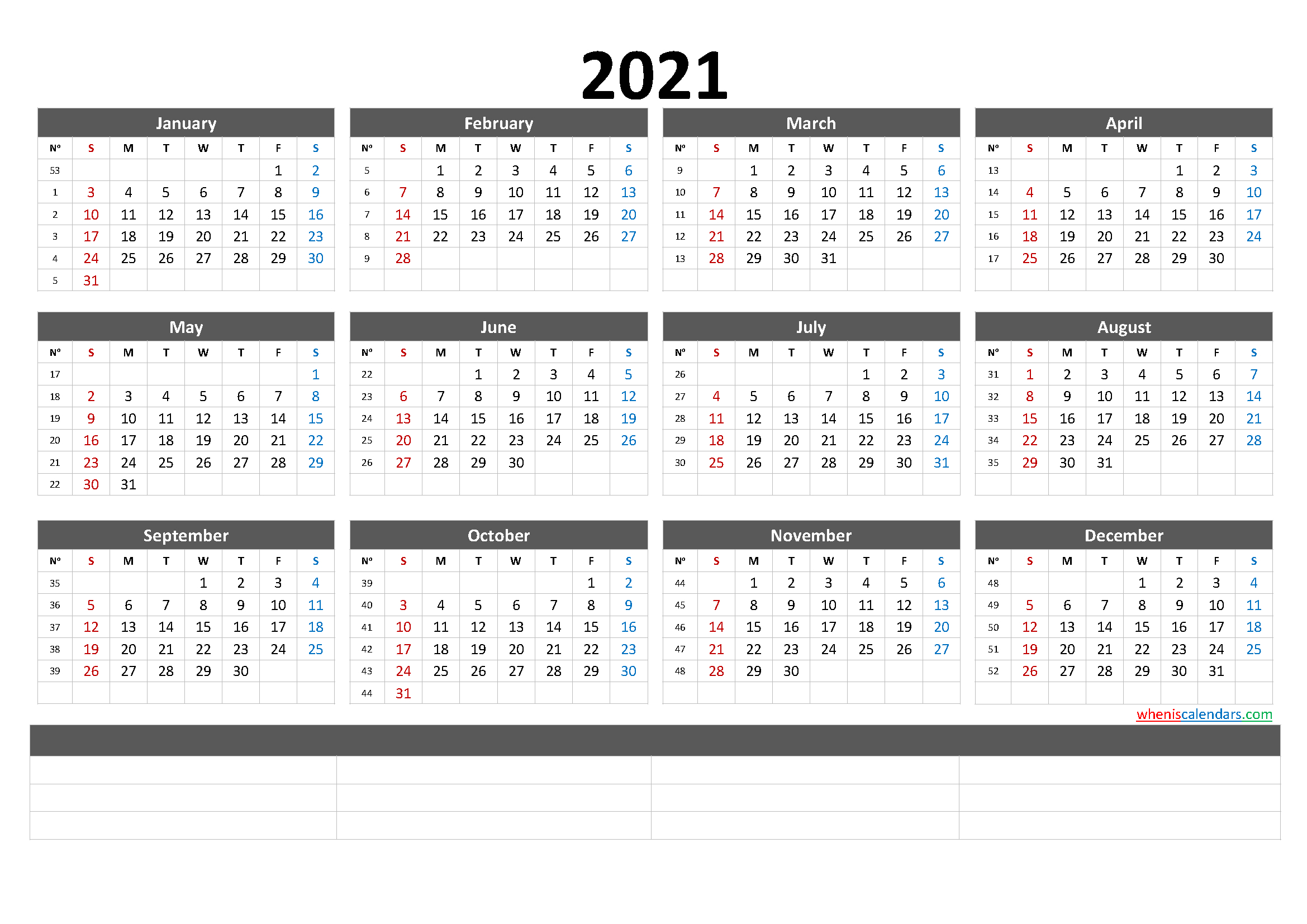 Free Printable 2021 Calendarmonth (6 Templates) for Monthly Fill In Printable Calendar 2021
