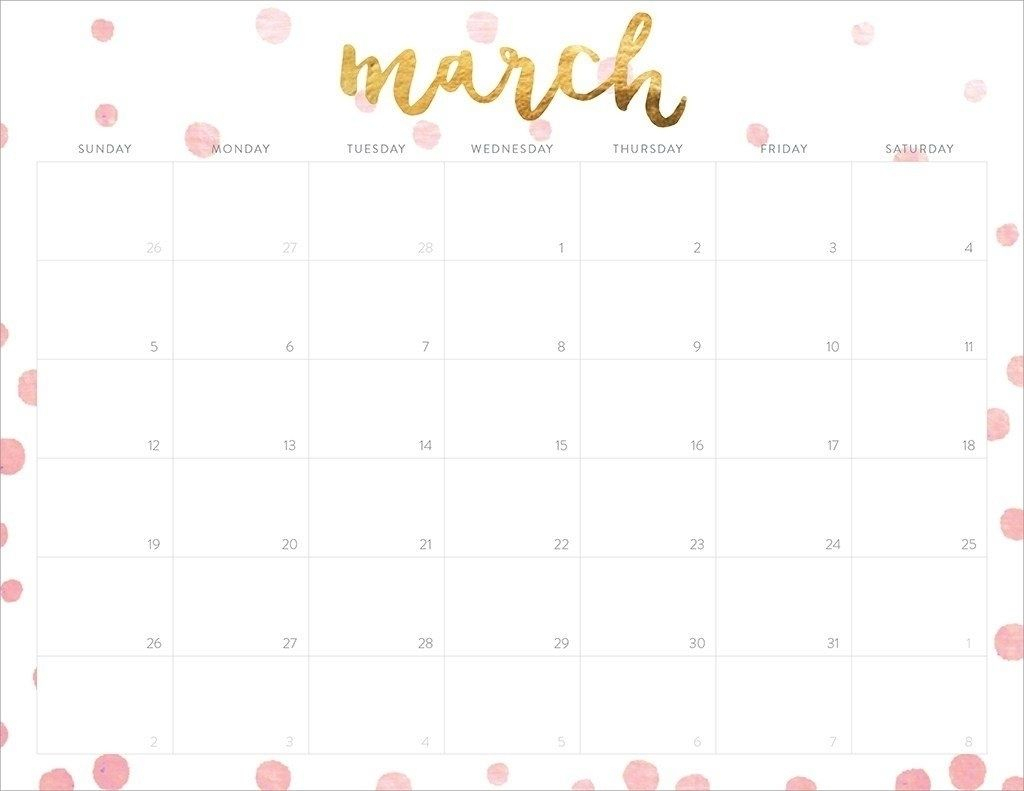 Free Printable Calendar Girly In 2020 | Calendar Printables regarding Girly Calewnder Of The Year