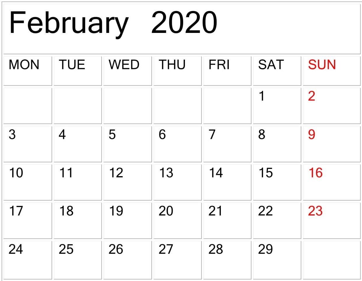 Free Printable Calendar Large Print In 2020 | Printable in 2021 Large Print Calendar Monthly