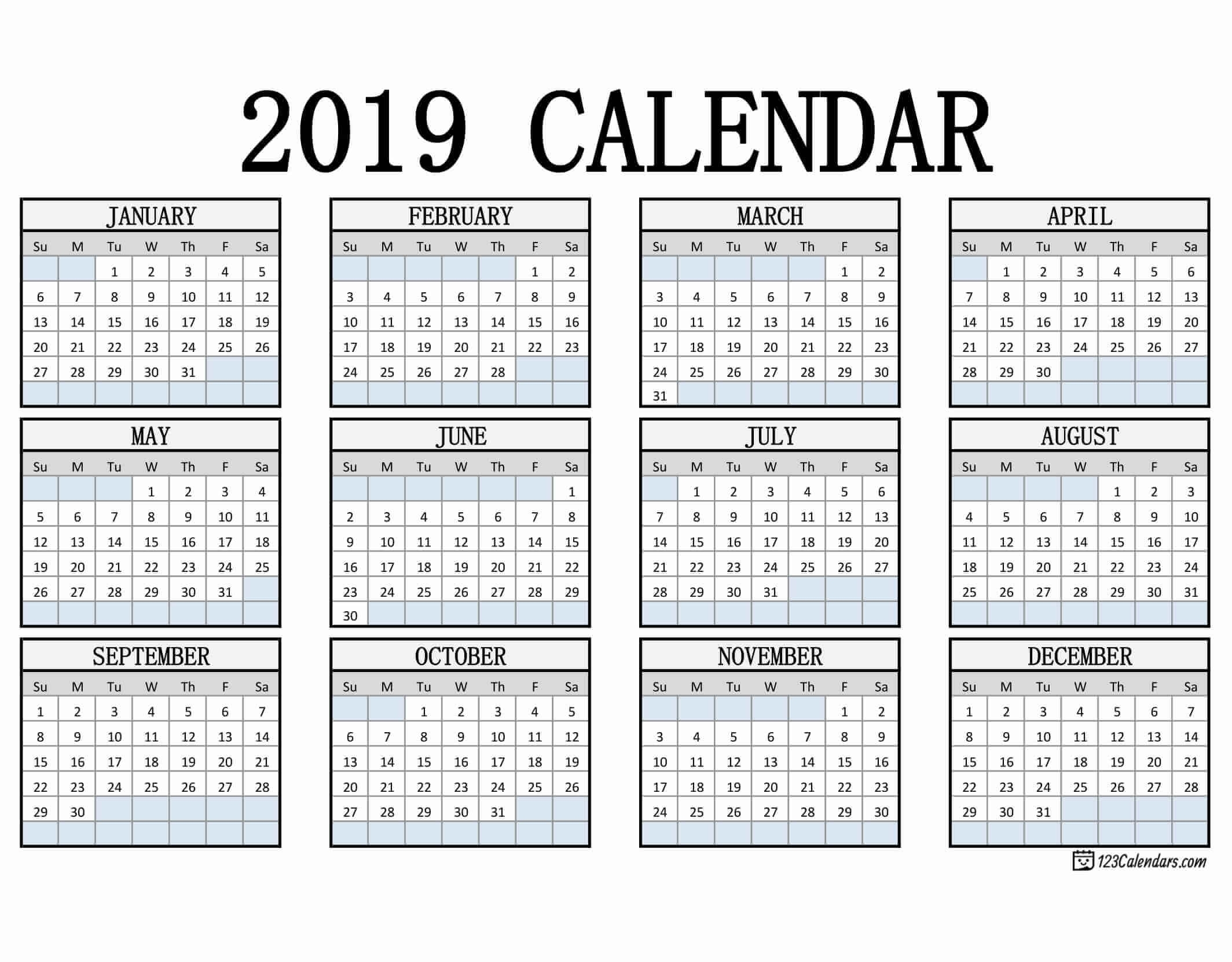 Free Printed Calendar regarding Free Printable Pocket Size Calendars