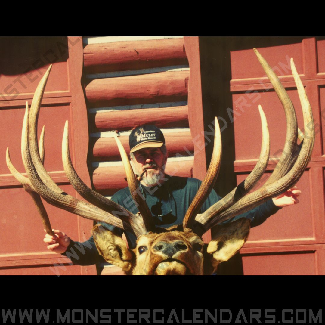 From The Archives. Giant Bull We Used Years Ago In One Of pertaining to Deer Hunting Calendar 2021