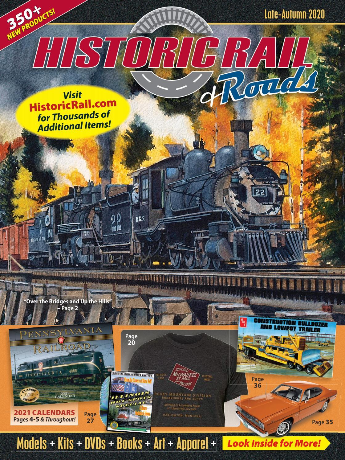 Historic Rail Late-Autumn 2020 Cataloghistoric Sales - Issuu with regard to Armco Operational Calendar 2021