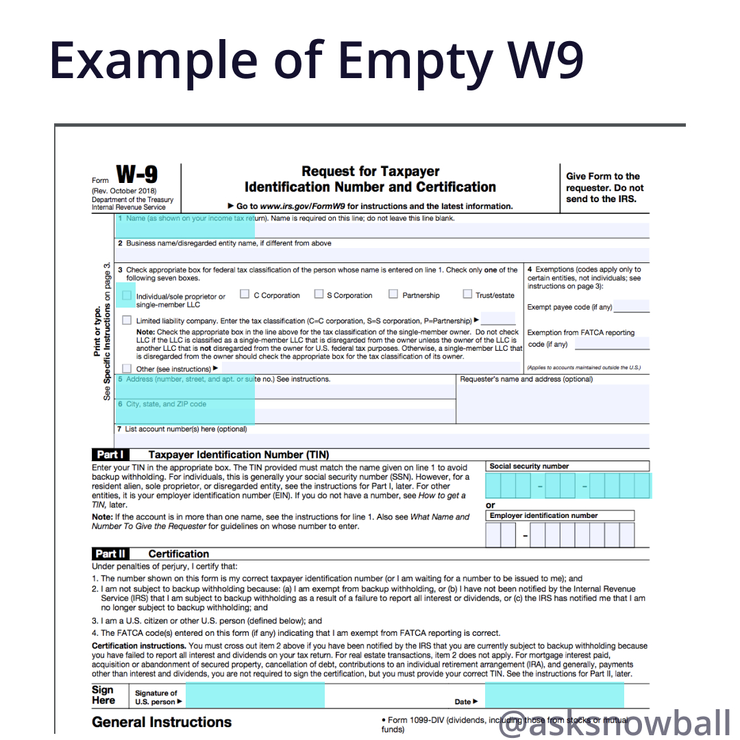 How To Fill Out A W-9 2019 in Pdf W-9 Form 2021