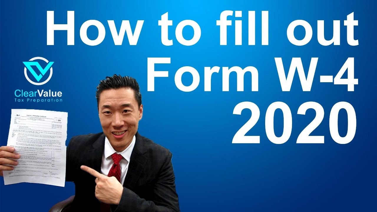 How To Fill Out A W4 Form 2021 intended for Form W-4 2021