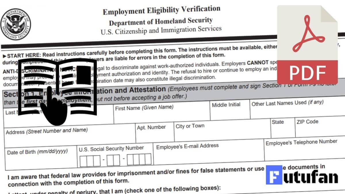 I9 Form 2021 - I-9 Forms pertaining to Blank I9 2021