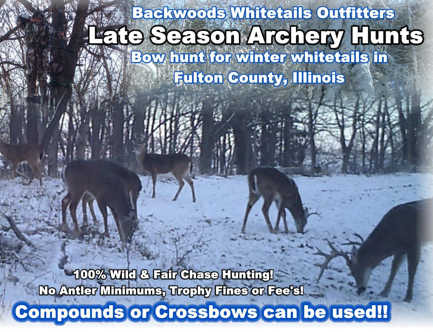 Illinois Post Rut Whitetail Hunts - Backwoods Bowhunting pertaining to 2021 Il Deer Rut