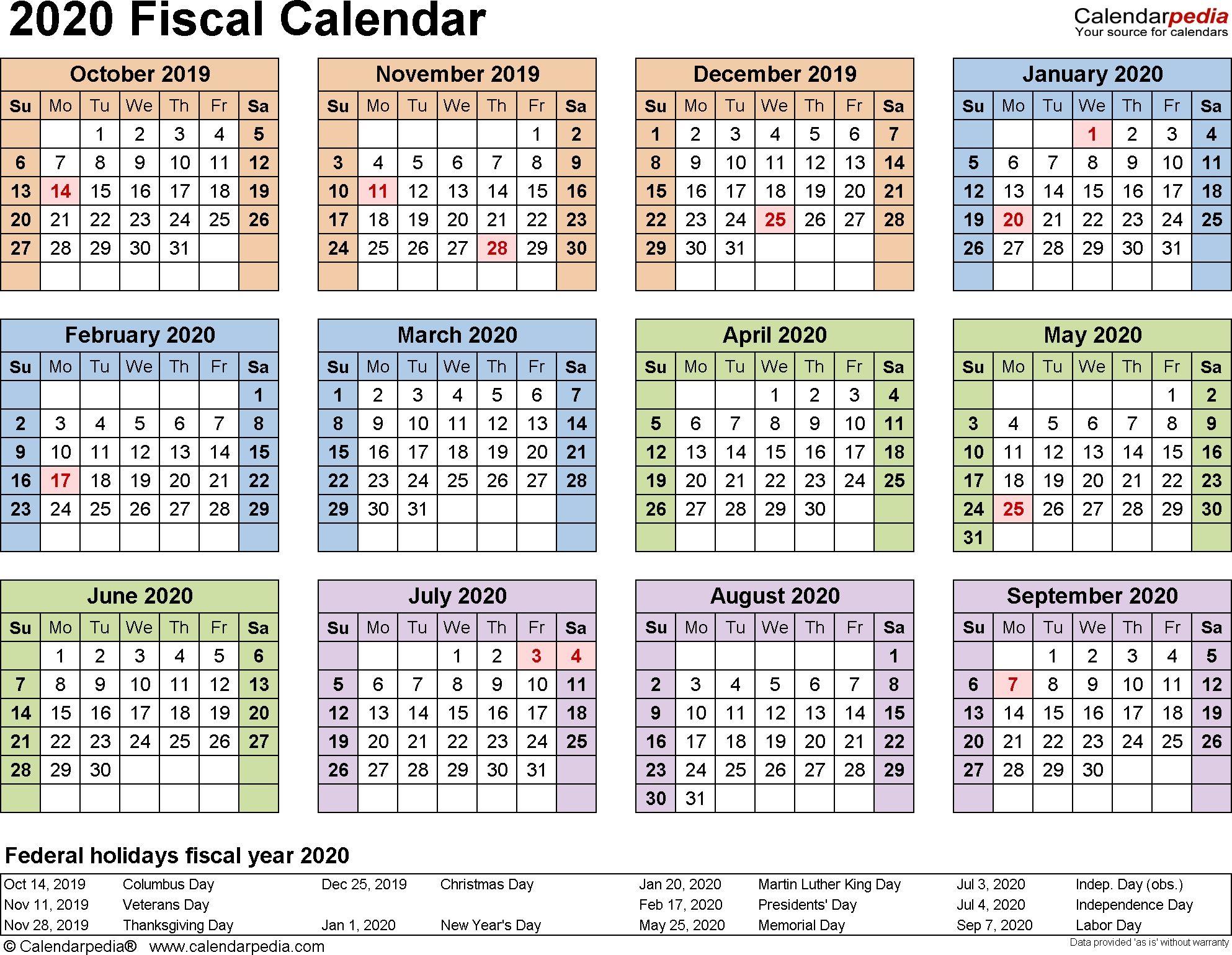 Incredible 2020 Federal Leave Calendar In 2020   Payroll inside Federal Government Calendar Printable
