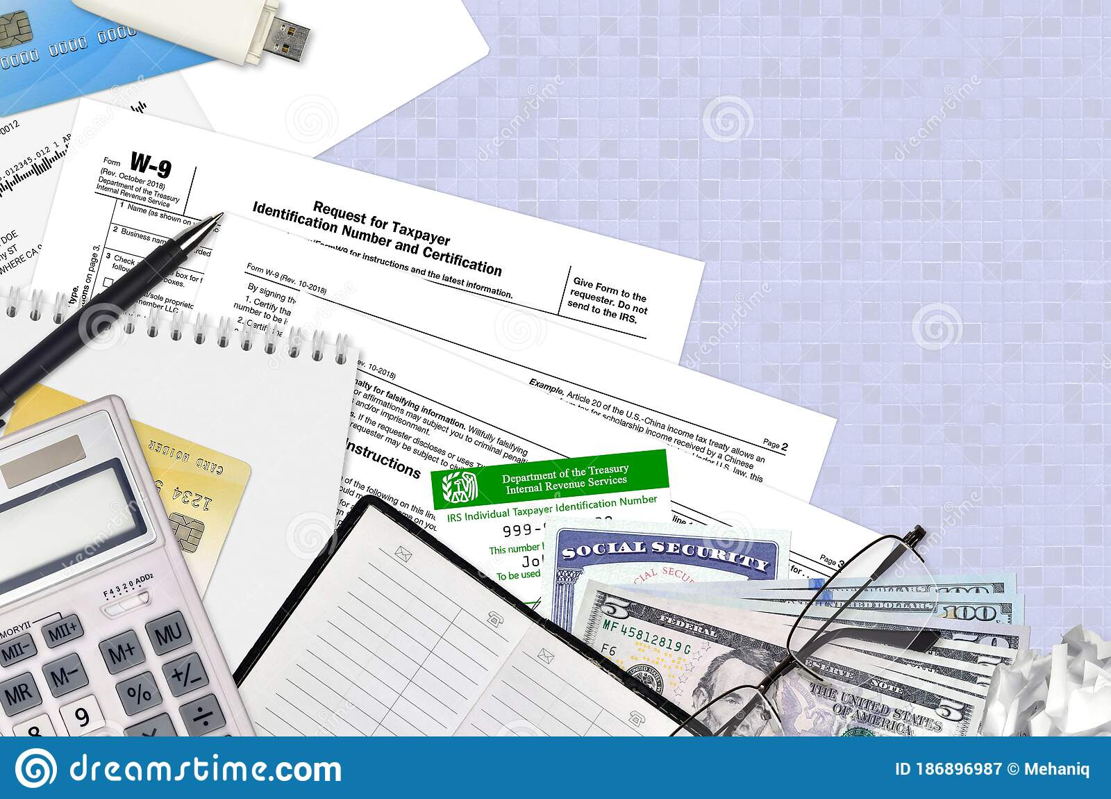 Irs Form W-9 Request For Taxpayer Identification Number And with W-9 Form 2021