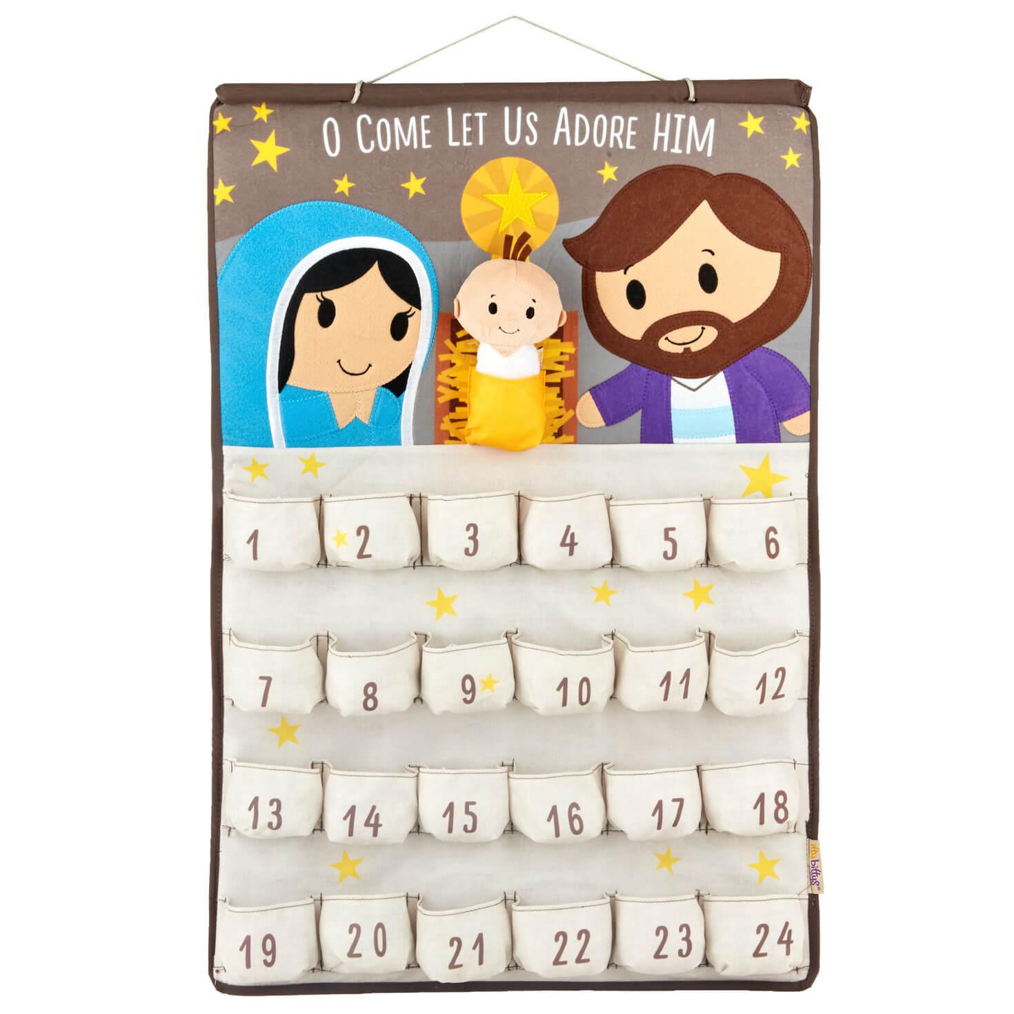 Itty Bittys® Jesus Plush Countdown To Jesus'S Birthday Calendarhallmark within Free Hallmark Pocket Calendars