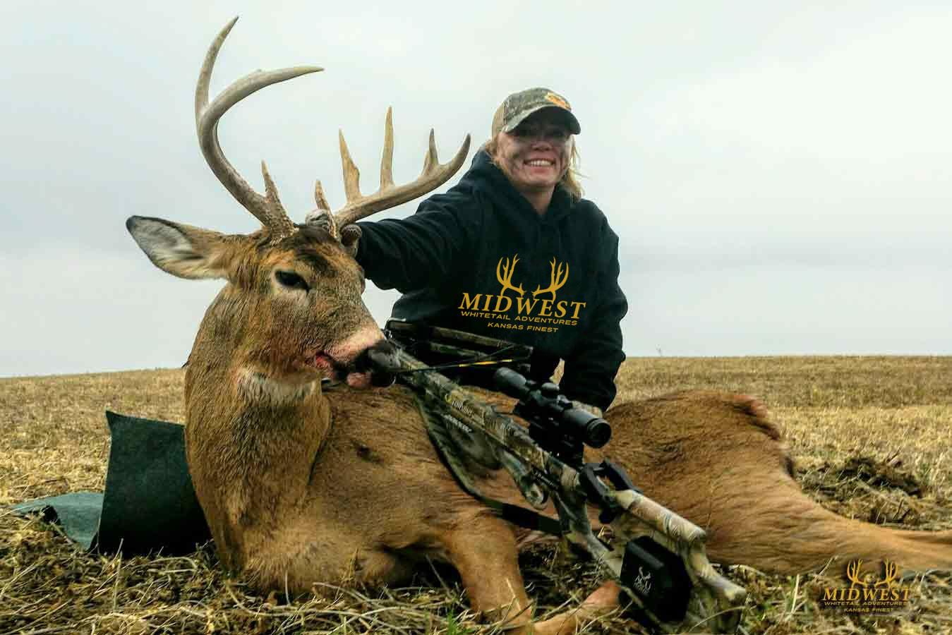 Kansas Deer Hunts - Midwest Whitetail Adventures regarding 2021 Kansas Whitetail Rut Prediction