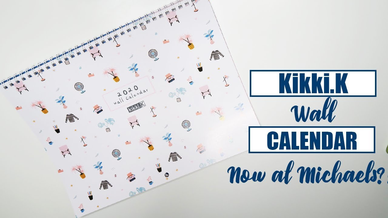 Kikki K Wall Calendar Michaels Stores | Raspberyl Designs intended for Wall Calendar Kikki K