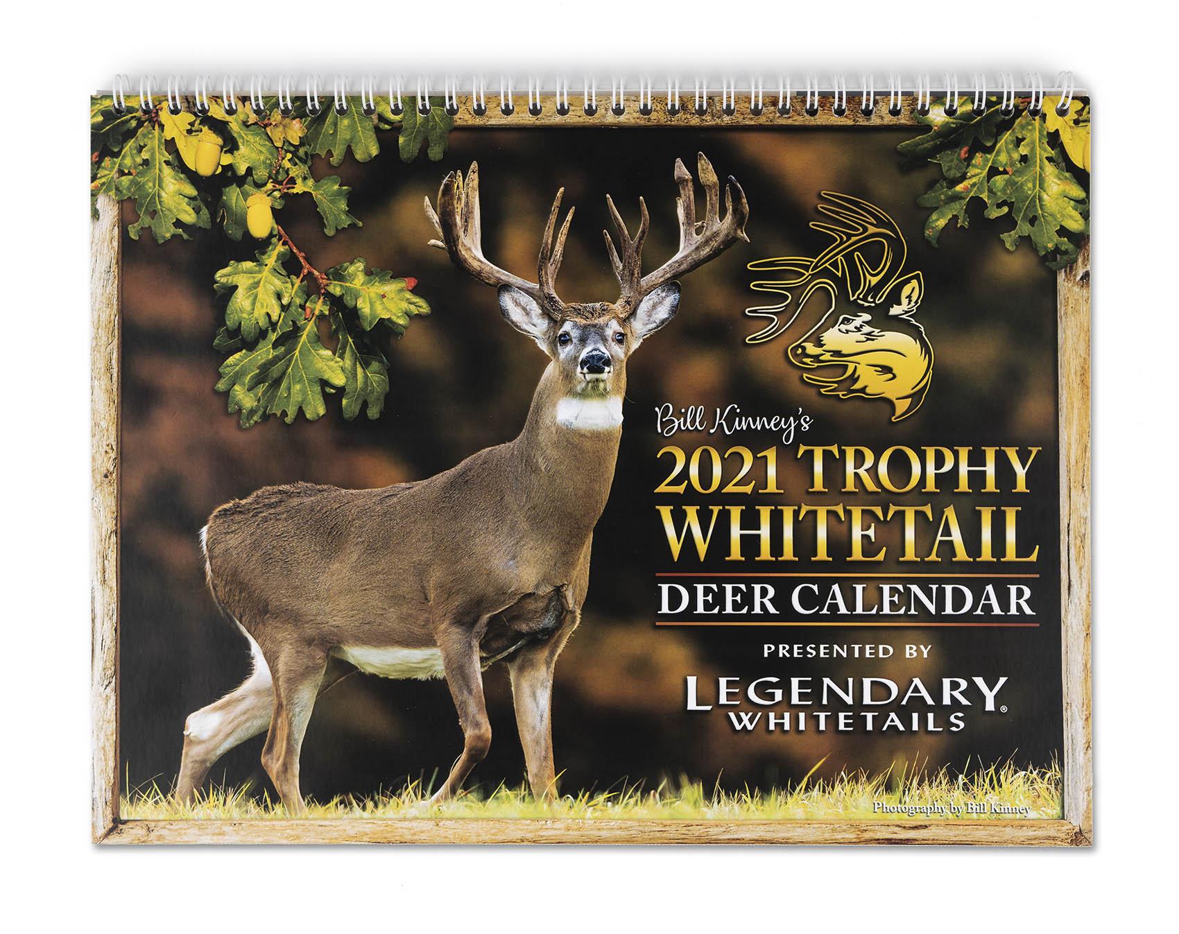 Legendary Whitetails 2021 Calendar intended for Deer Activity Calendar 2021