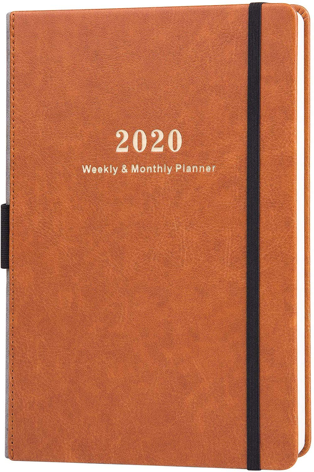 Lemome Premium Pen Holder & Pocket Academic Weekly Planner for 2021-2021: Two-Year Monthly Pocket