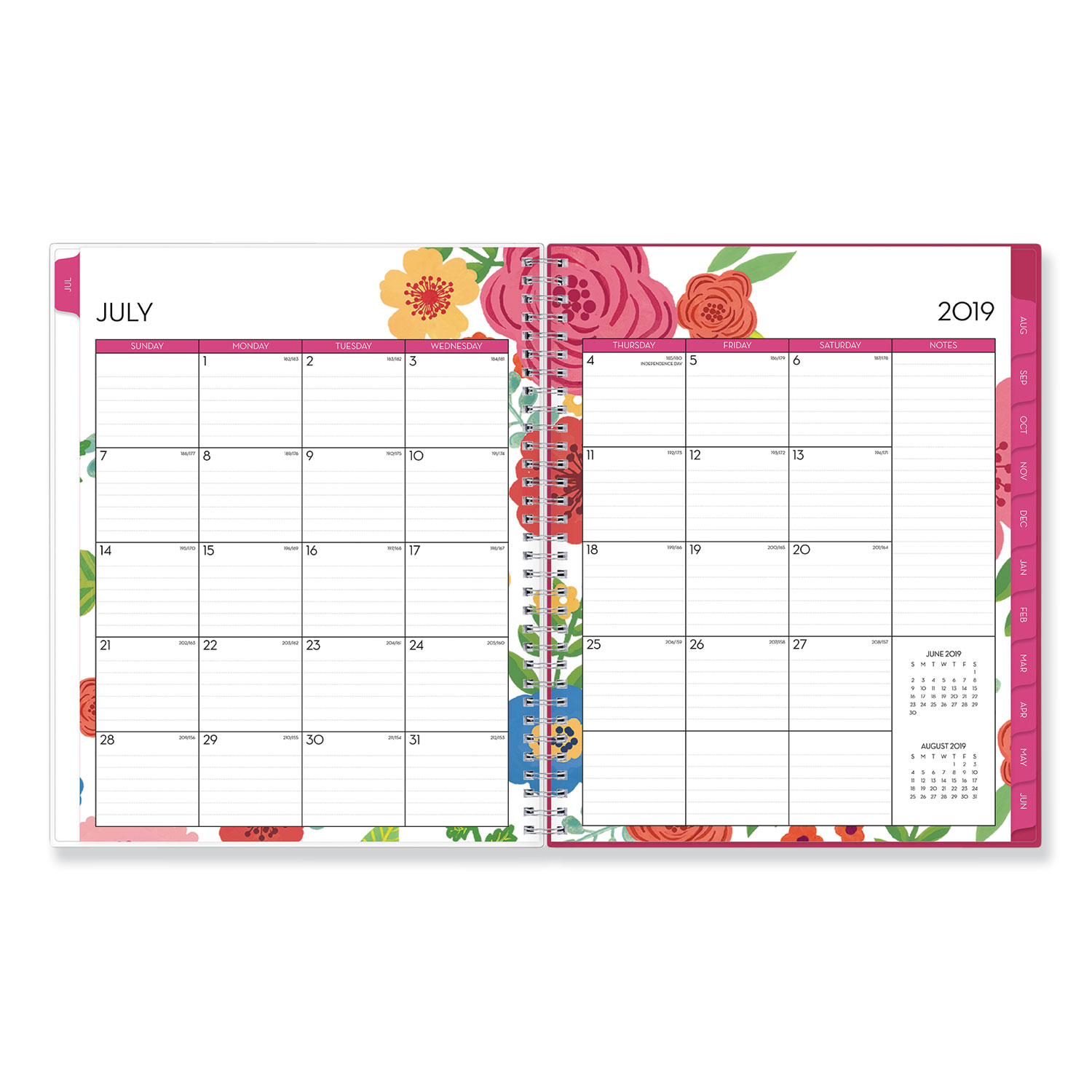 Mahalo Academic Year Cyo Weekly/Monthly Planner, 11 X 8.5 intended for Tropical Floral: Calendar 2021 Monthly