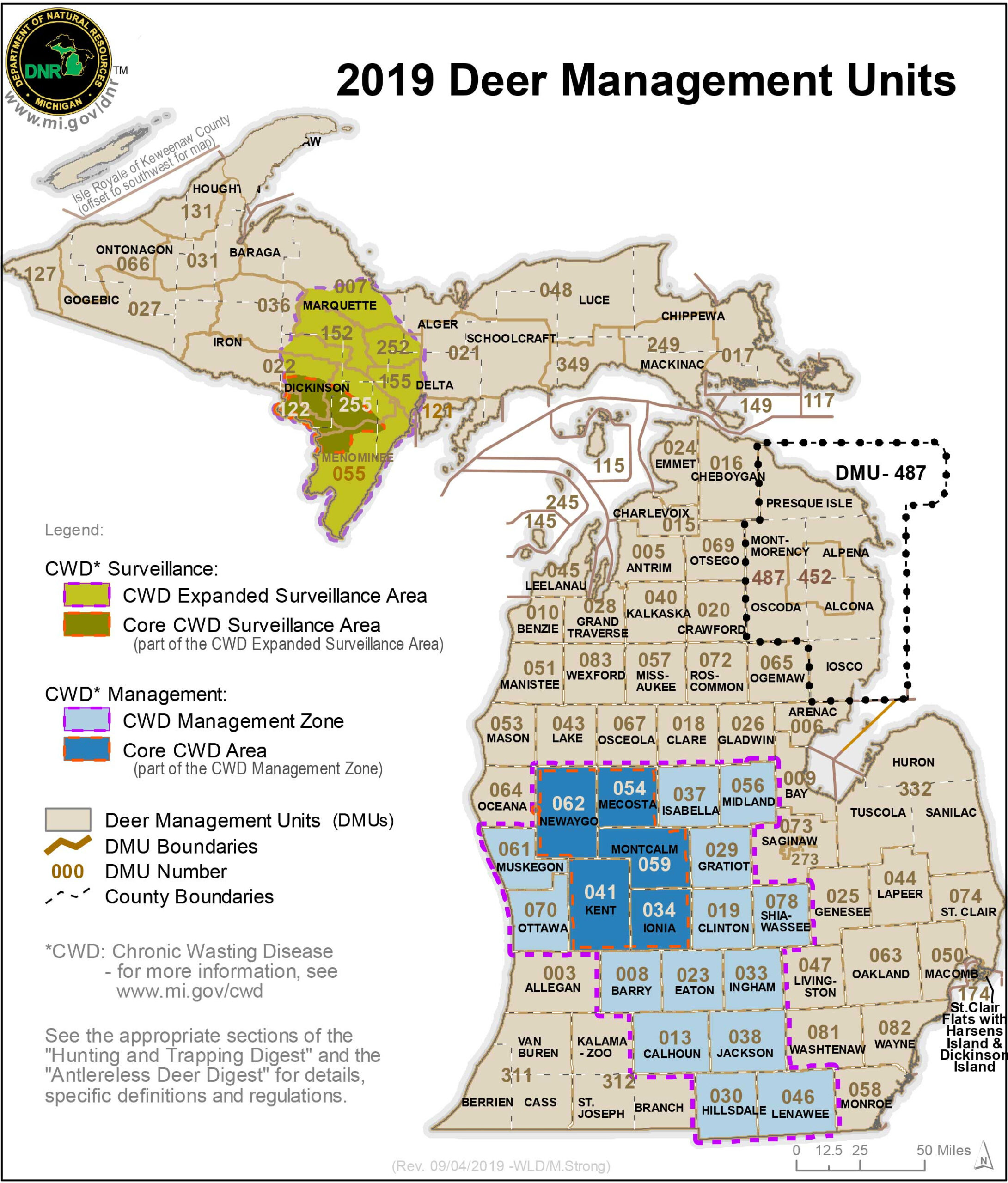 Michigan Deer Hunting Season Outlook within Michigan Deer Rut Calender
