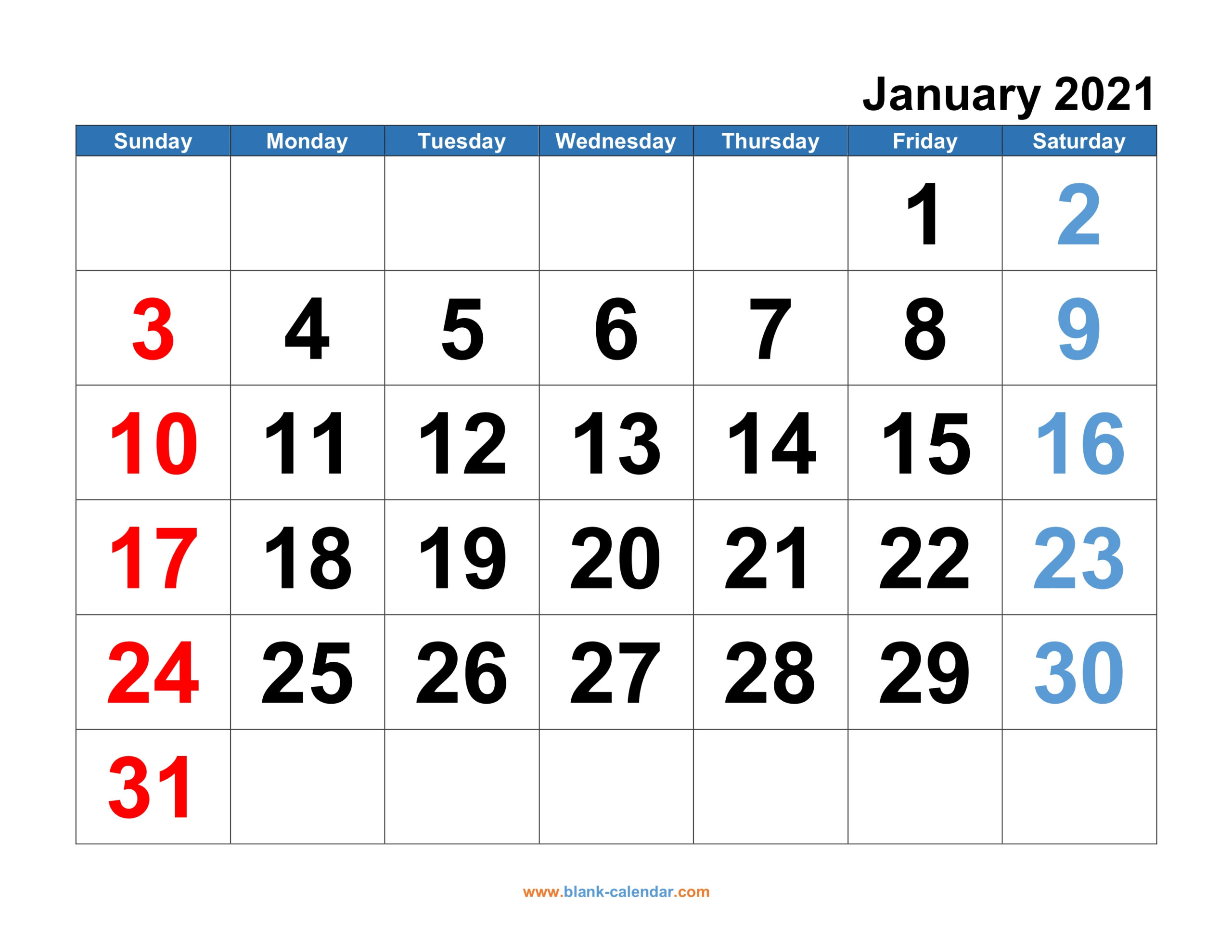 Monthly Calendar 2021 | Free Download, Editable And Printable in Monthly Fill In Printable Calendar 2021