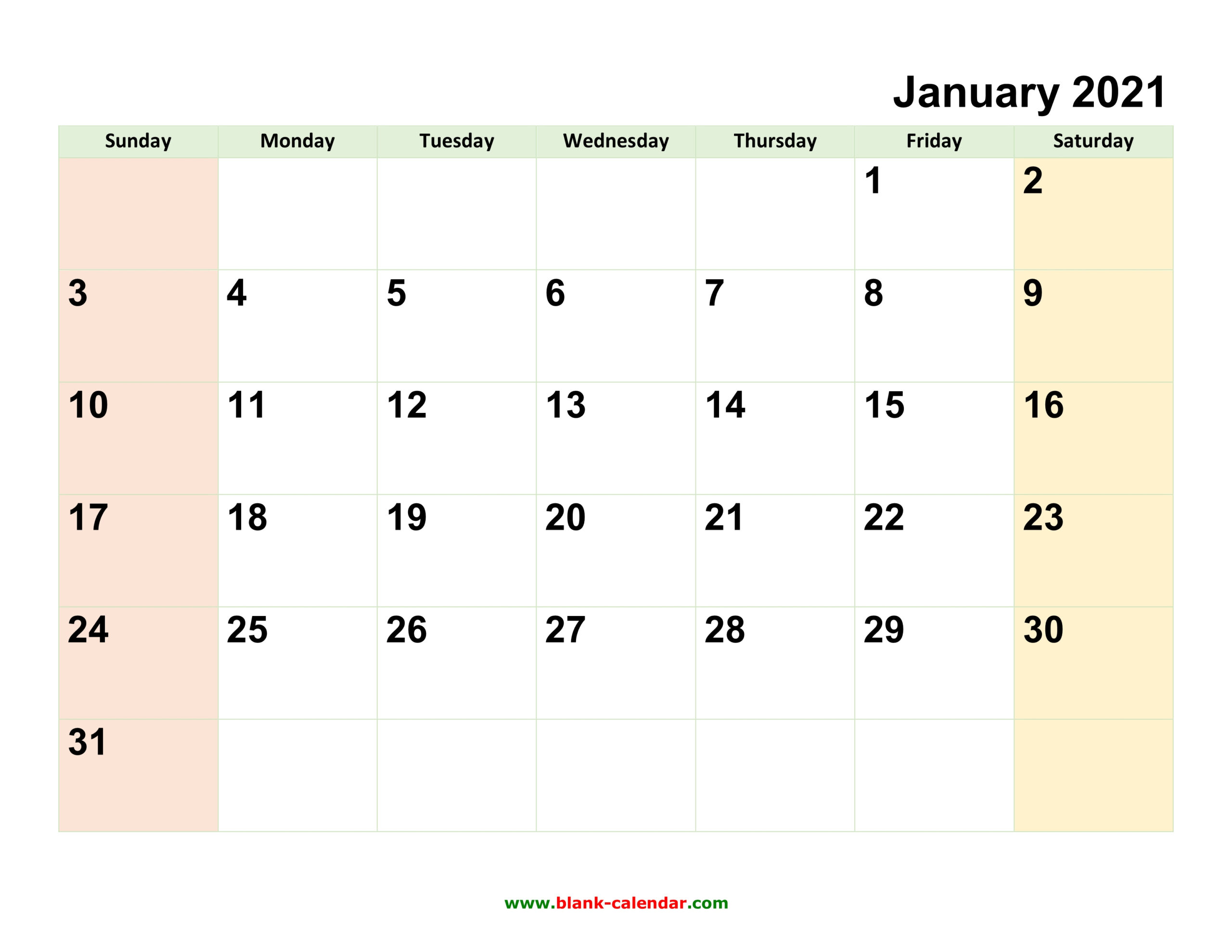 Monthly Calendar 2021   Free Download, Editable And Printable intended for Printable Blank Fill In Monthly Calendar 2021