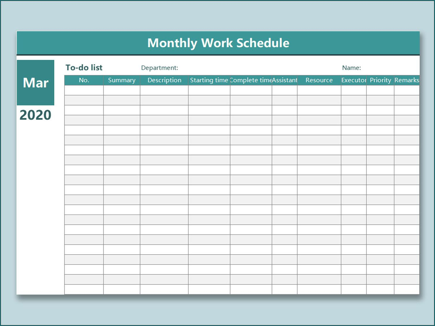 Monthly Employee Shift Schedule Template ~ Addictionary for Fre Shift Calenders