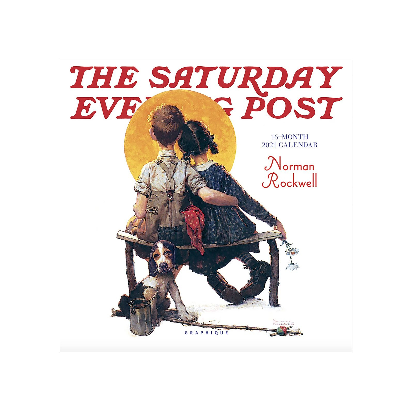 Norman Rockwell Saturday Evening Post 2021 Mini Wall pertaining to Saturday Calendar 2021