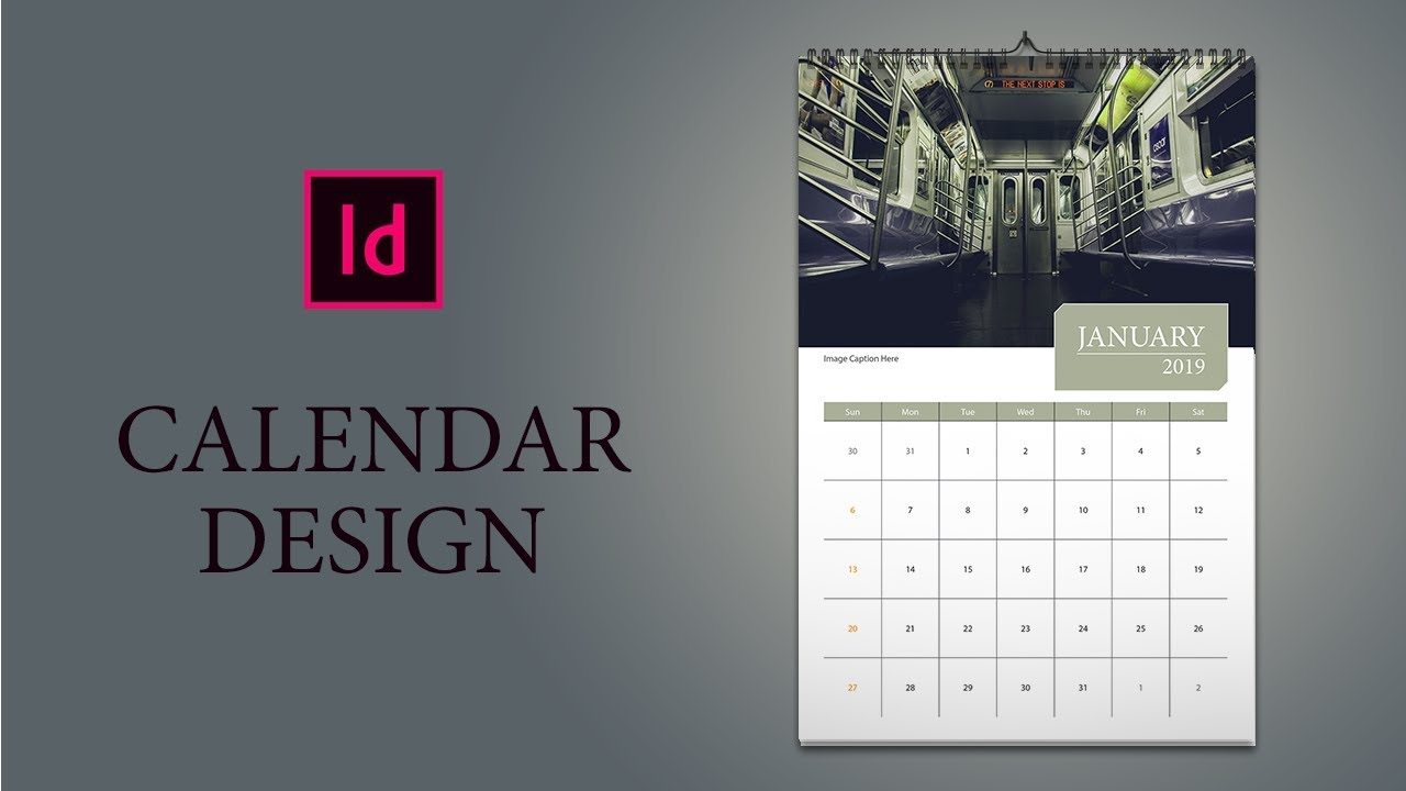 Only 16 Minutes: How To Design Calendar In Indesign with regard to Indesign Calendar Wizard