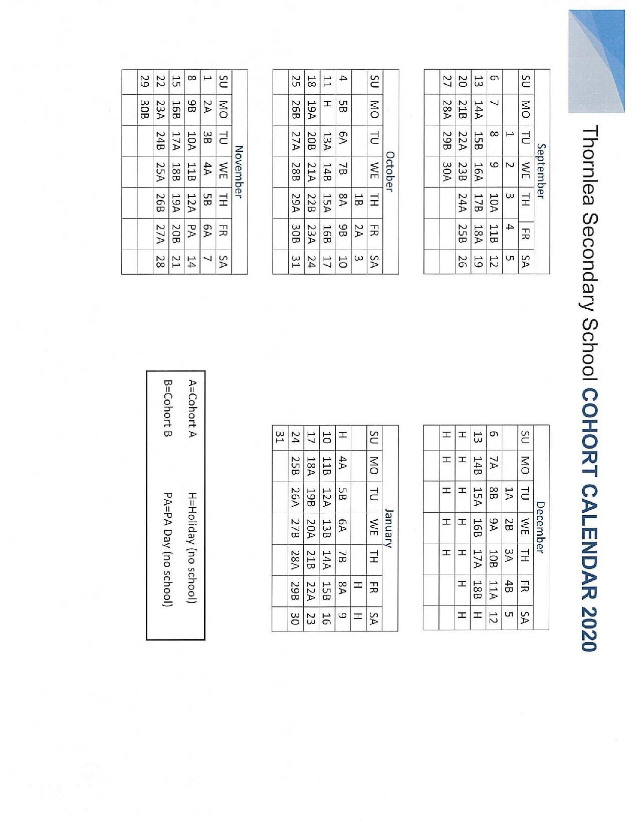 Pages - School Schedule, Rotation Schedule, And Cohort Calendar regarding Yrdsb School Calender