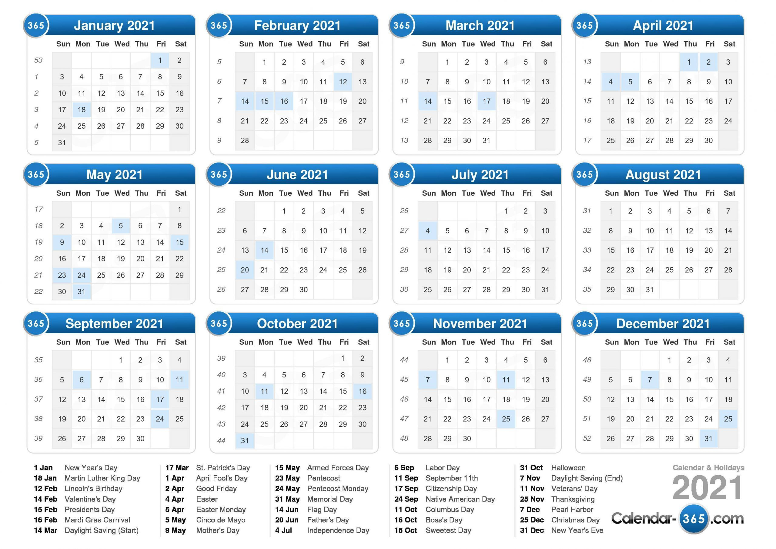 Pin On Calendar Printables with regard to Monthly Calendar By Week Number 2021