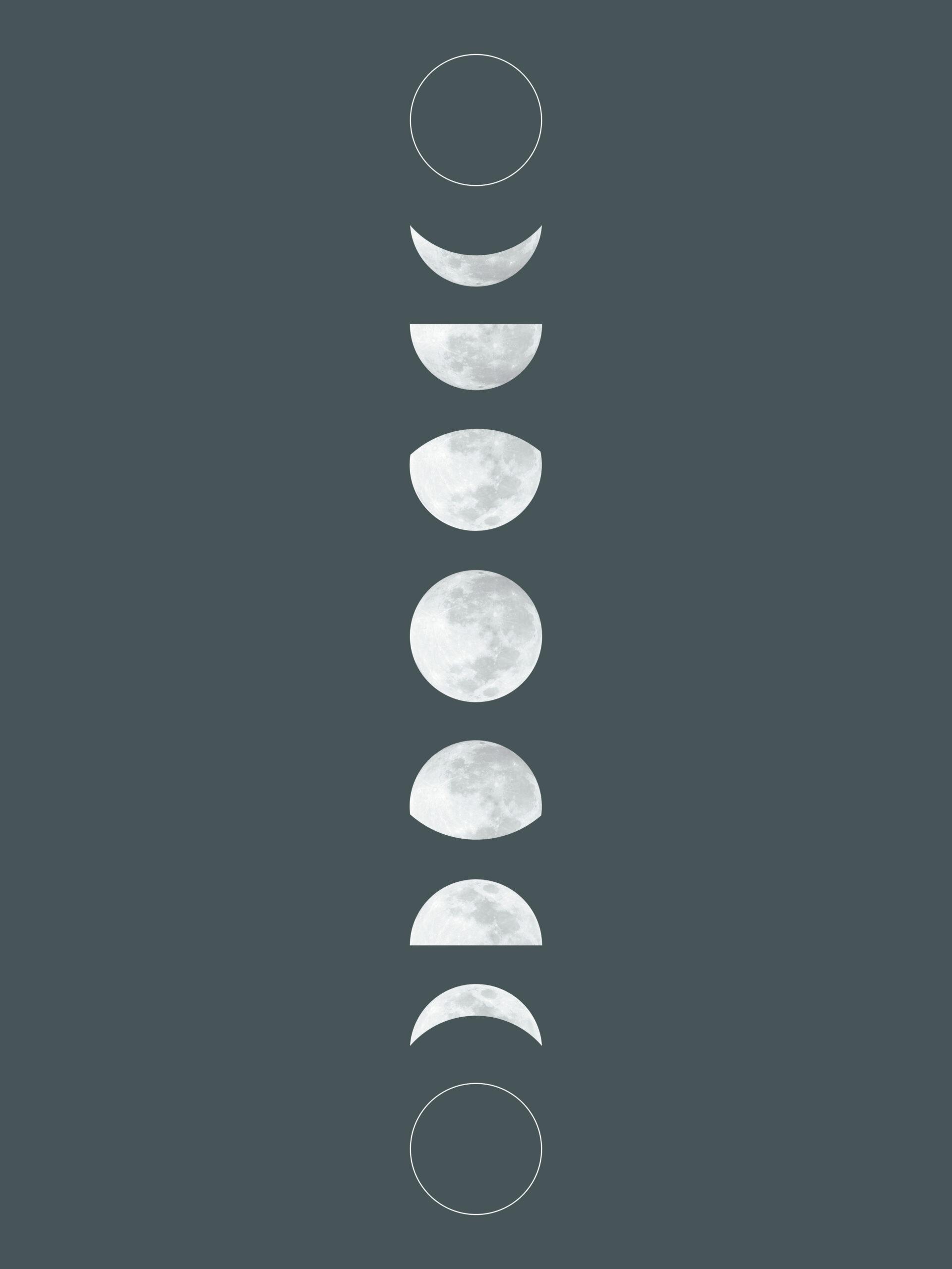 Pin On Printables inside Phases Moon Printable