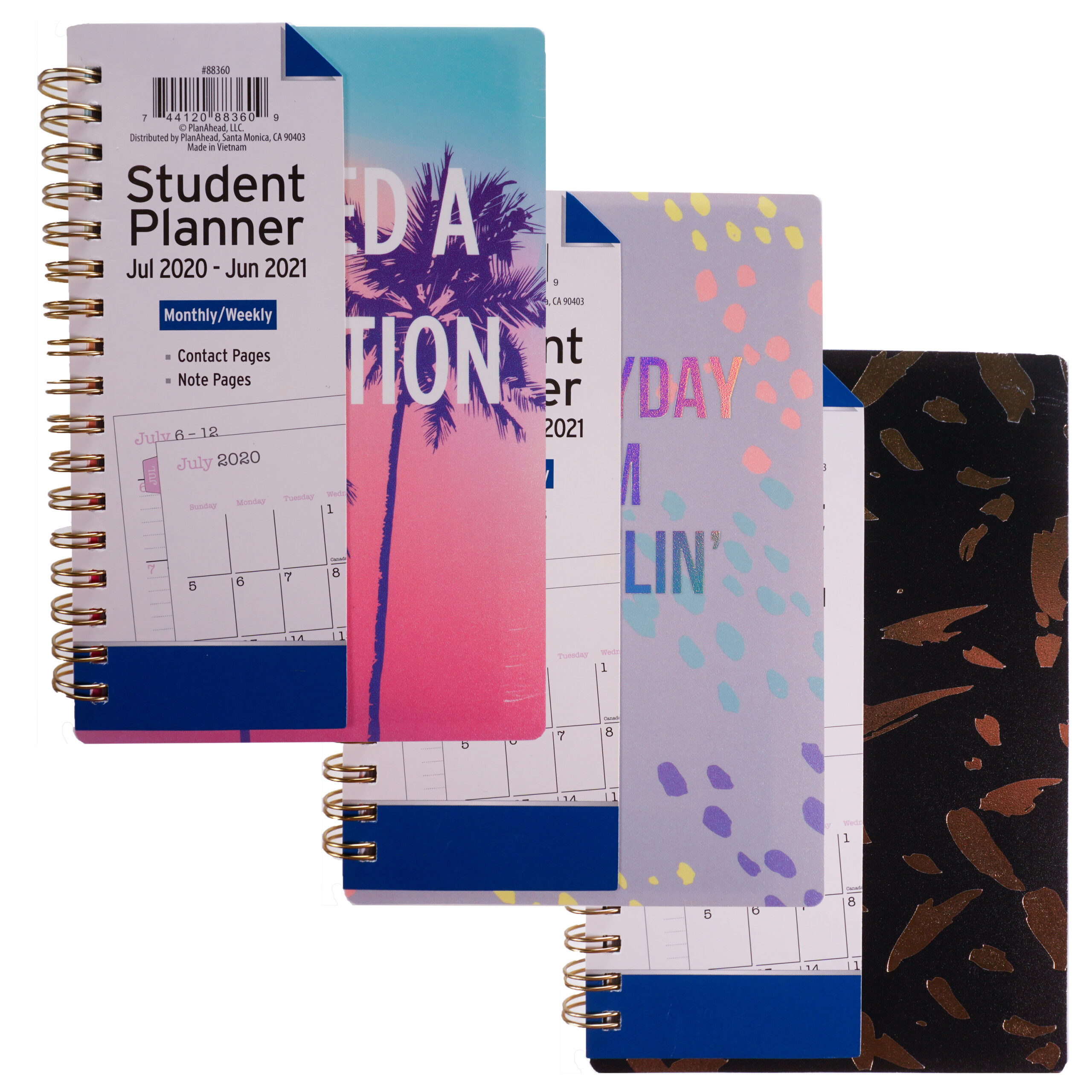 """Planahead Academic Planner, July 2020-June 2021 Monthly/Weekly 4"""" X 6.25"""" -  Walmart intended for Hunting Planner 2021 Monthly"""
