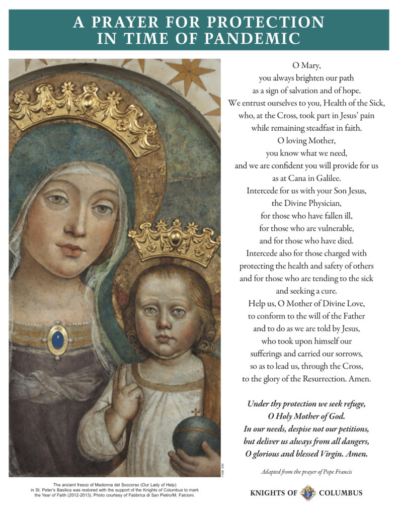 Prayer Resources | Archdiocese Of Baltimore in Daily Mass Intercessions 2021