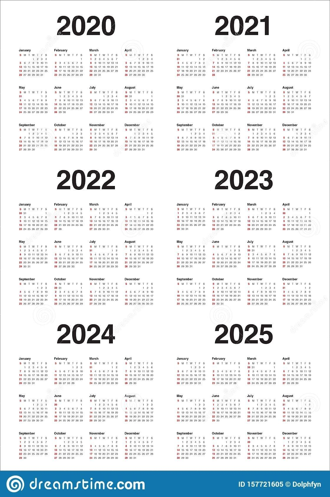 Printable 3 Year Calendars 2021 2022 2023 In 2020 | Yearly intended for Three Year Printable Calendar 2021 To 2023