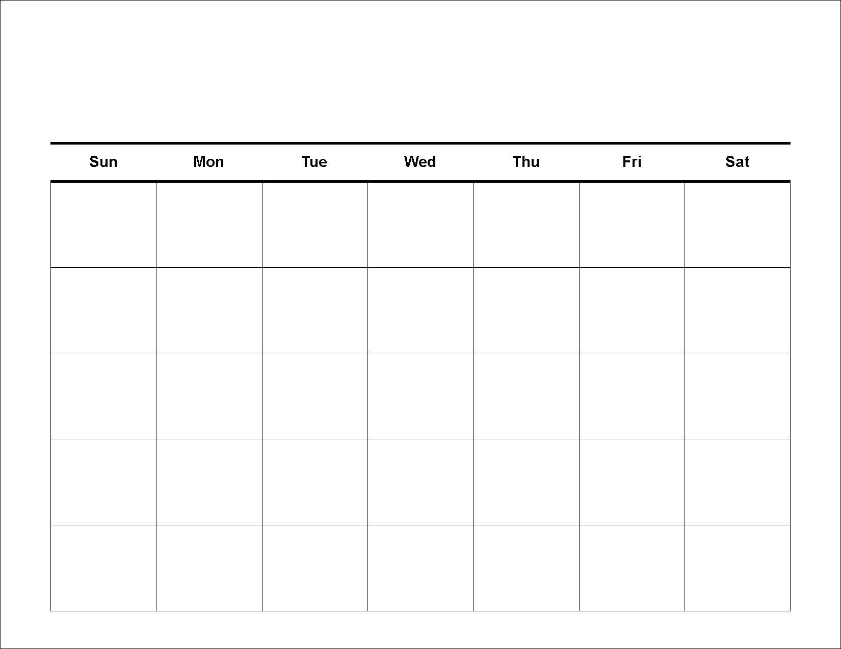 Printable Calendar Grid Leonescapersco Free 2 Week Blank in Free Fill In Printable Calendars