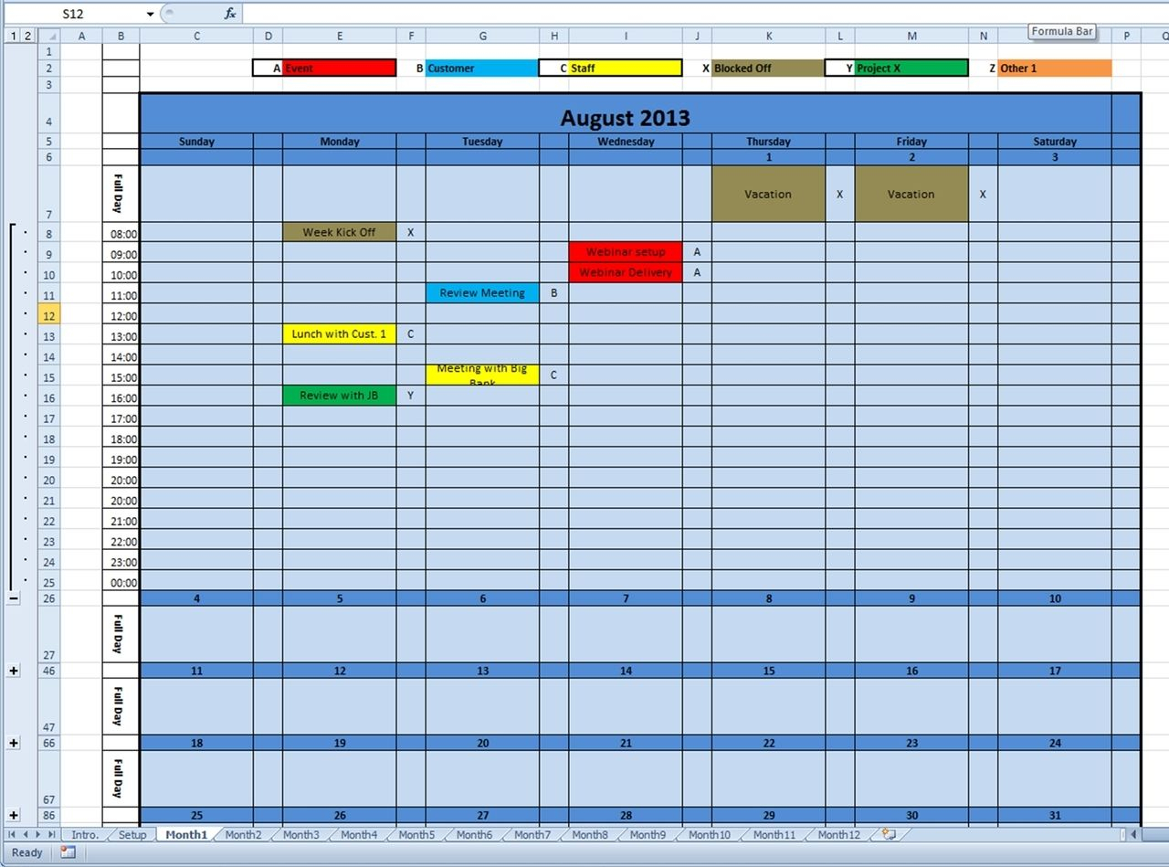 Printable Monthly Calendar 2014 Excel Template | Monthly pertaining to Hunting Planner 2021 Monthly