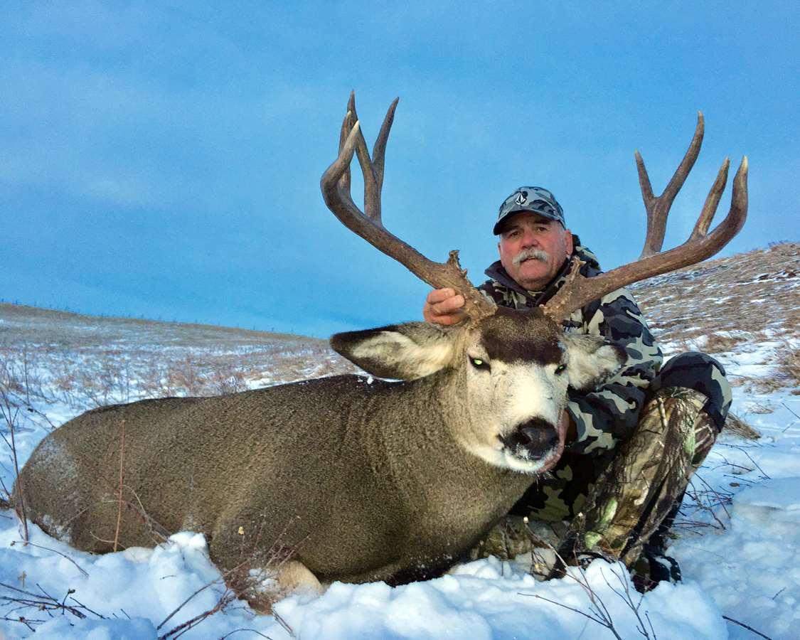 Rifle Mule Deer Hunt (Rut!) 2021 in Whitetail Deer Rut 2021