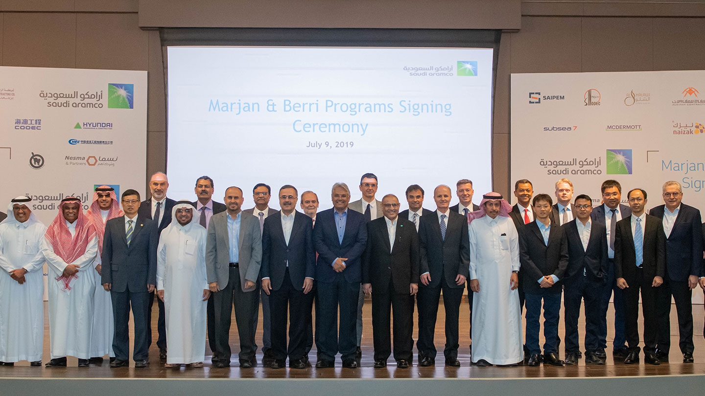 Saudi Aramco Awards Contracts Valued At $18 Billion To with Armco Operational Calendar 2021