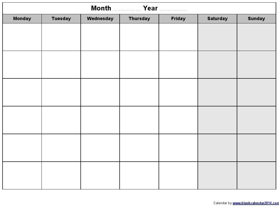 Schedule Template Monday Through Sunday What Makes Schedule regarding Monday Through Sunday