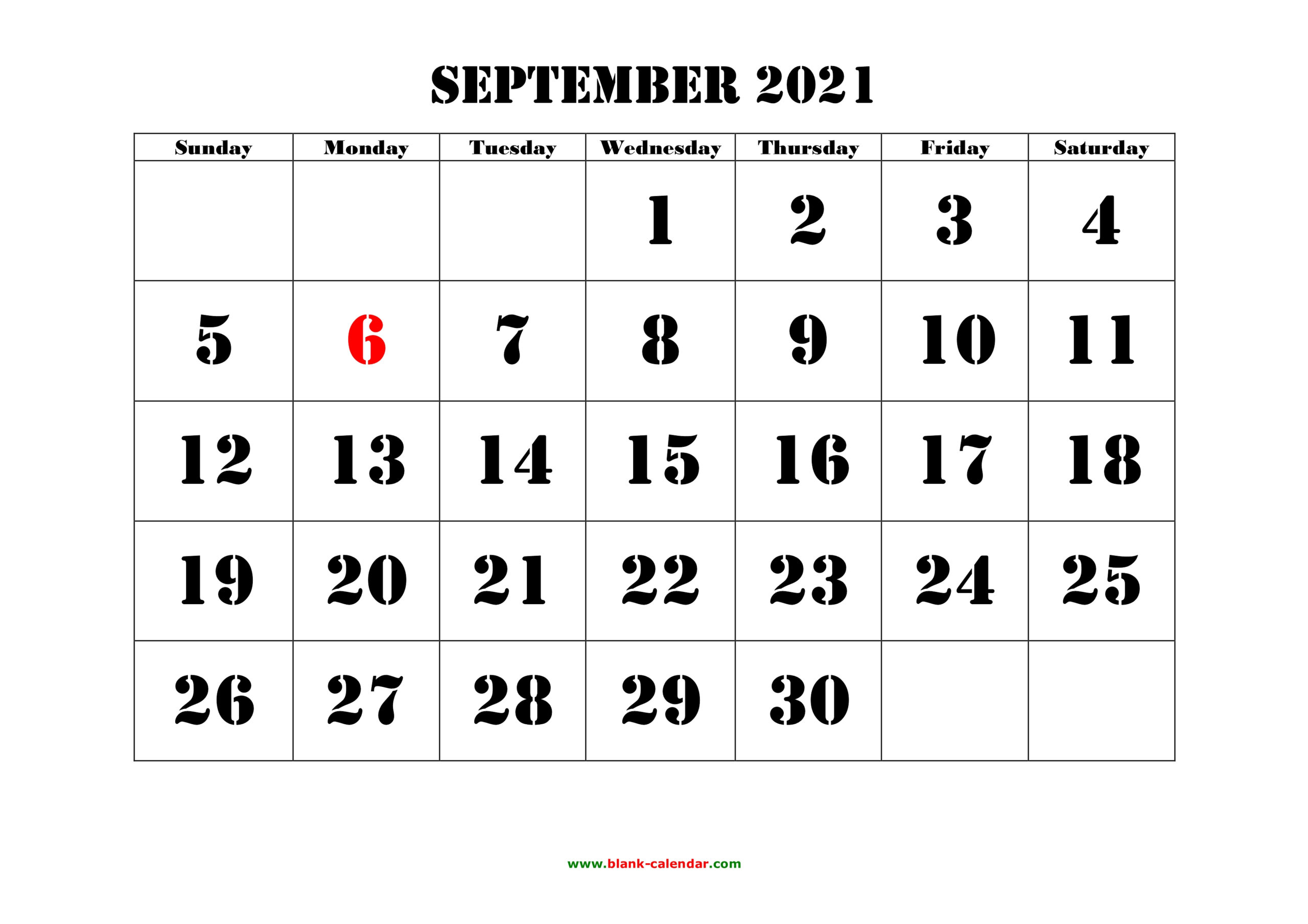 September 2021 Printable Calendar | Free Download Monthly regarding September 2021 Calendar Printable