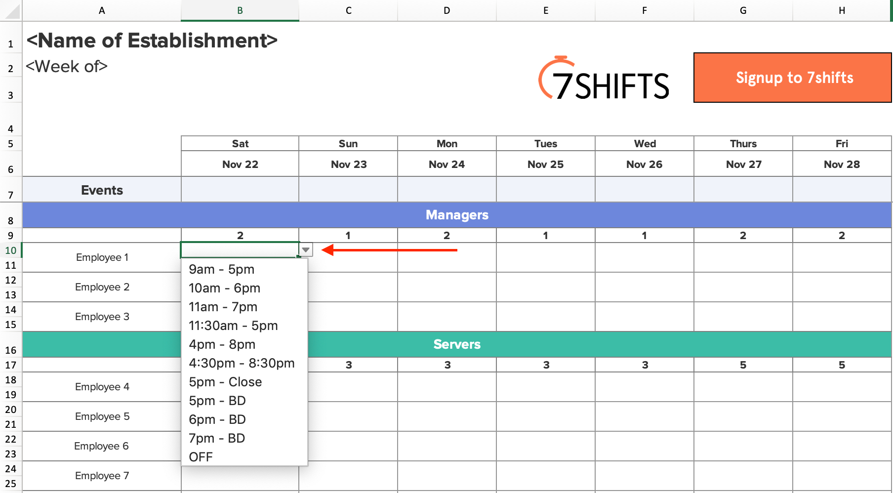 Shift Schedules: The Ultimate How-To Guide | 7Shifts for Shift Yearly Plan