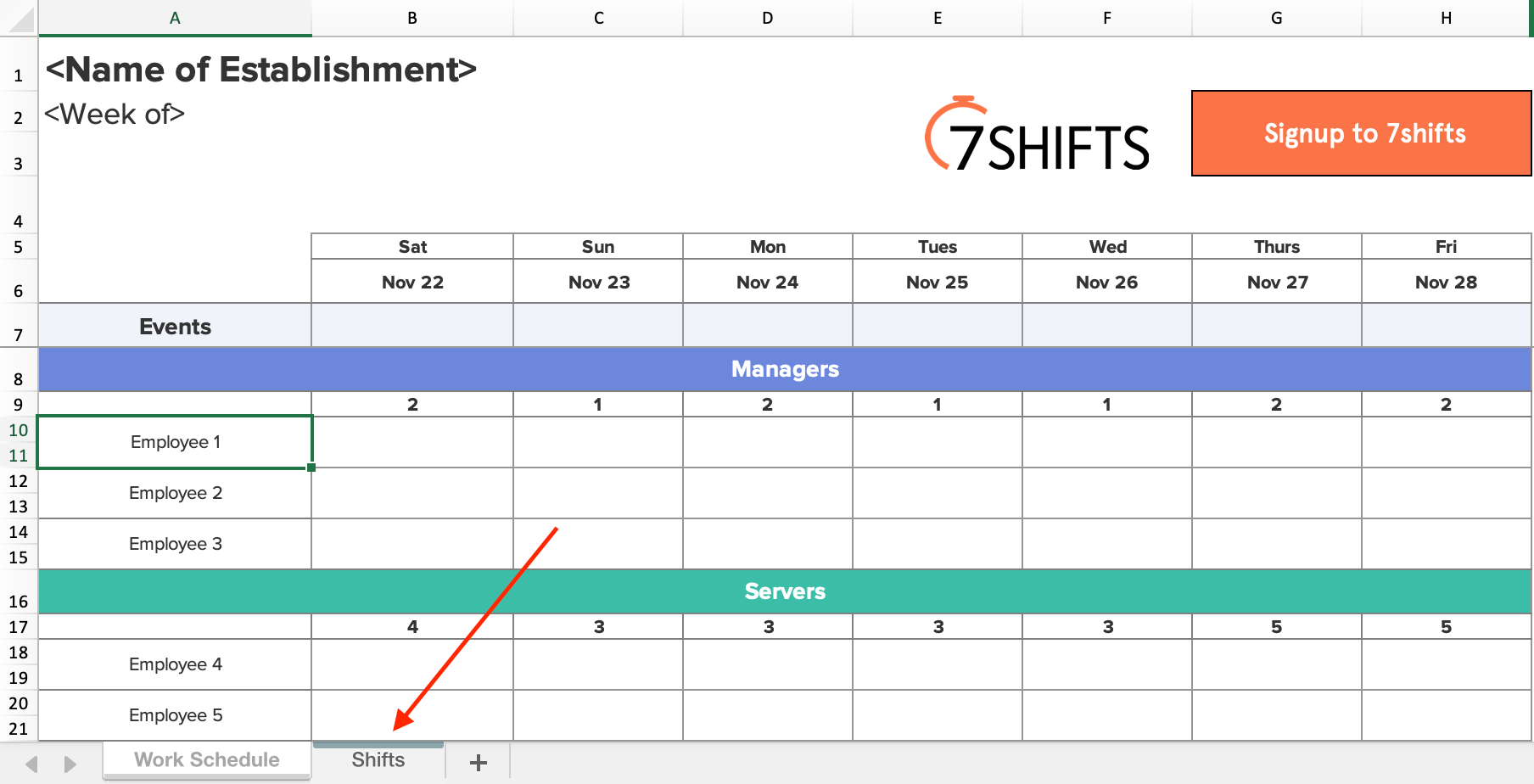 Shift Schedules: The Ultimate How-To Guide | 7Shifts in Shift Yearly Plan