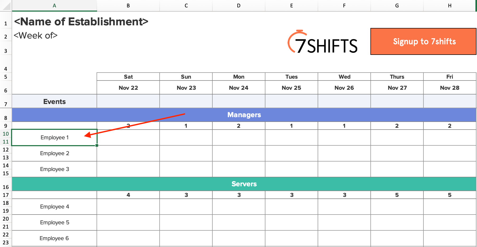 Shift Schedules: The Ultimate How-To Guide | 7Shifts pertaining to Fre Shift Calenders