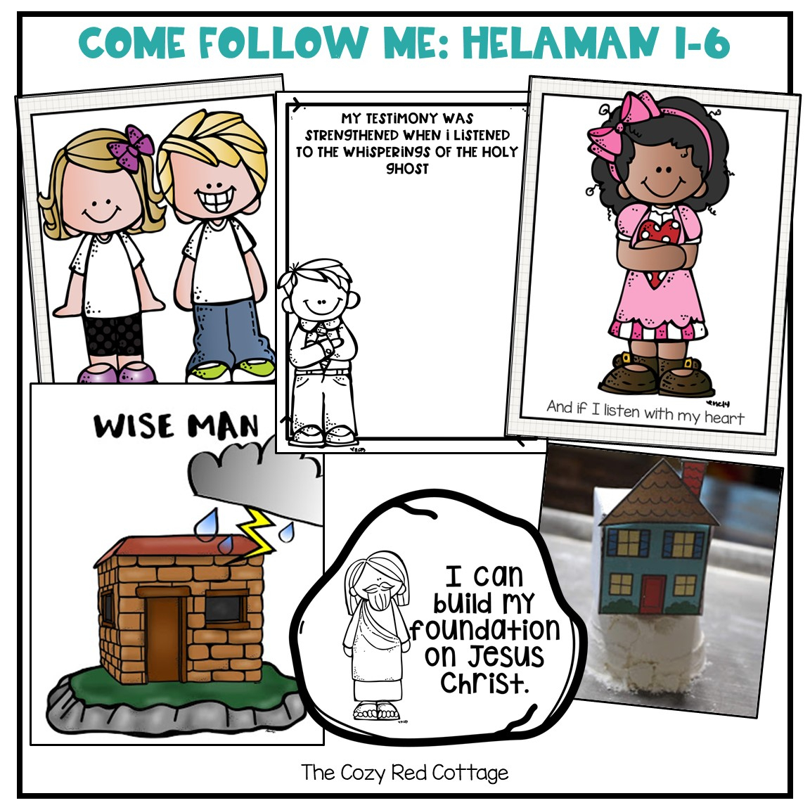 The Cozy Red Cottage: Come Follow Me: Helaman 1-6 in The Cozy Red Cottage