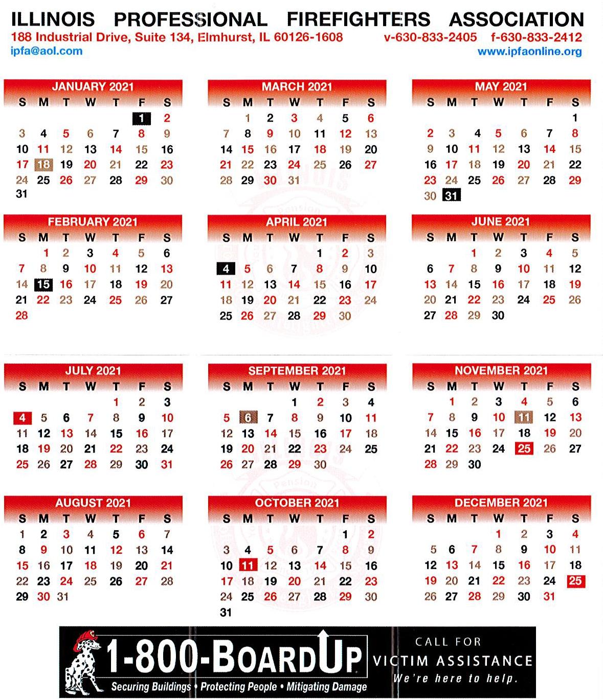 Tri Fold Calendar intended for Fire Shift Calendar