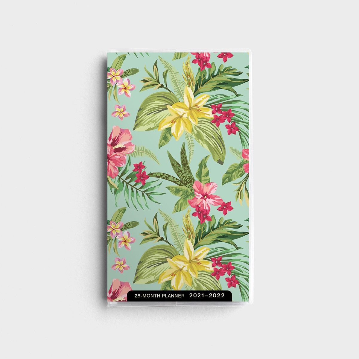 Tropical Floral - 2021-2022 - 28 Month Planner throughout Tropical Floral: Calendar 2021 Monthly