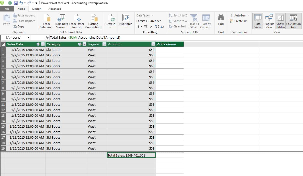 Tutorial De Power Pivot Para Excel: Los Casos Y Ejemplos Más throughout Calendario Fiscal 4-4-5