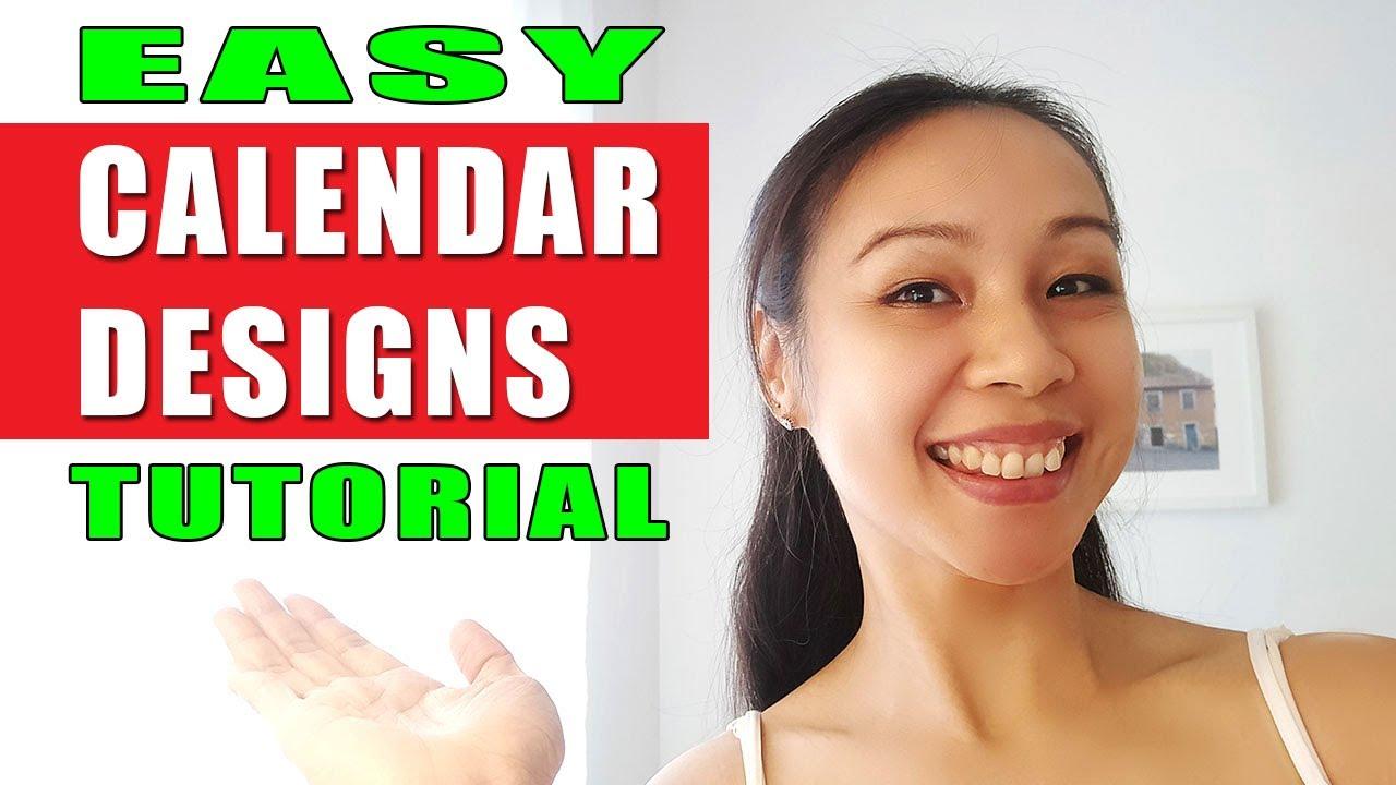 Tutorial | Easy Calendar Design With Calendar Wizard In Adobe Indesign For  Designers with Calendar Wizard Indesign 2021