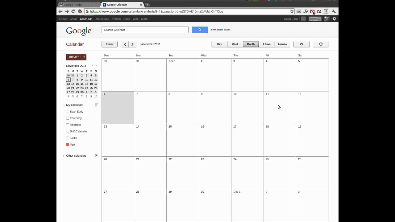 Using Google Calendars To Create A Shift Calendar within Shift Yearly Plan