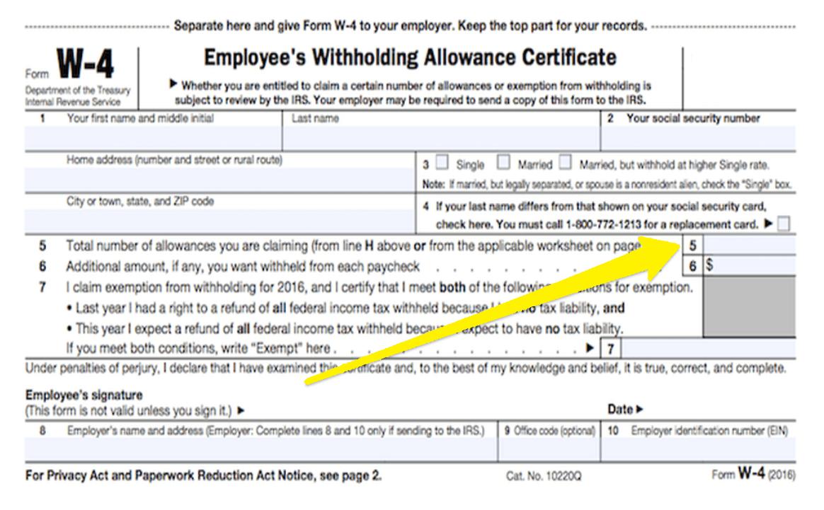 W4 Form 2021 Allowances pertaining to Form W-4 2021